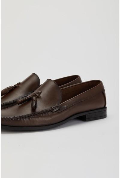 Muggo VERSAY05 Erkek Deri Casual Ayakkabı
