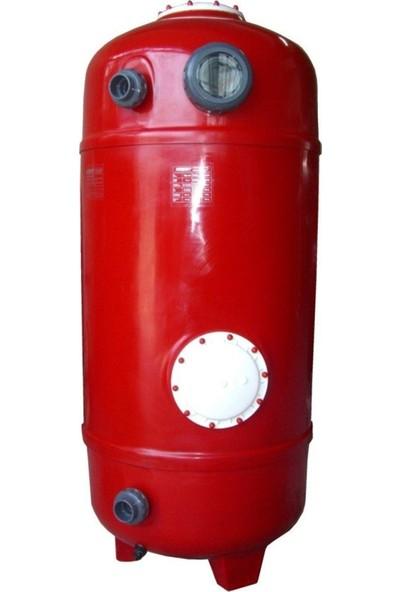 Nozbart Dın Normu Polyester Havuz Kum Filtresi Gözetleme Camlı 1250MM