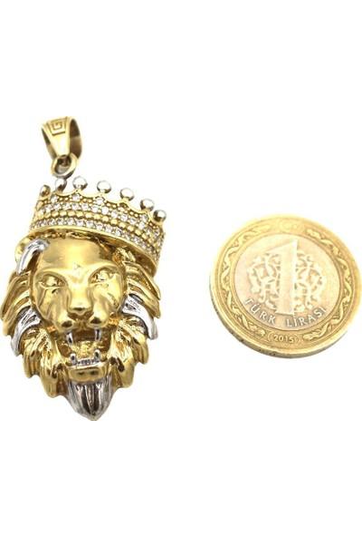 Tekin Gold Aslan Kral Kolye Ucu