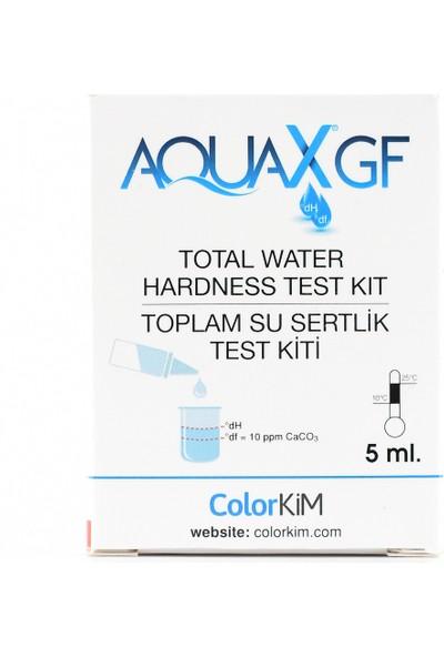 Aqua Yerli 5 ml Aquax®gf- Toplam Su Sertliği Test Kiti - Su Kalitenizi Kolay, Hızlı ve Doğru Ölçün.