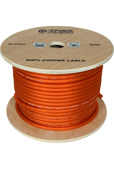 Reiss Audio Oto Anfi Power Kablo 4ga Bakır 30 Metre Reıss RS-PC4GA