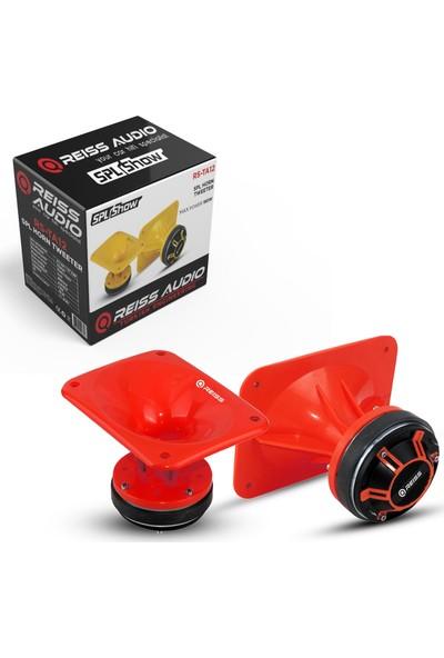 Reiss Audio Spl Horn Kare Tweeter 180W 1 Adet Kırmızı Reıss RS-TA12
