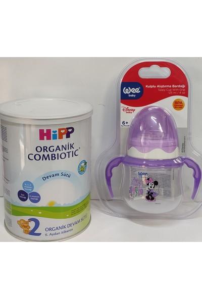 Hipp 2 Organik Combiotic Bebek Devam Sütü 350 Gr+Wee Biberon 125ML