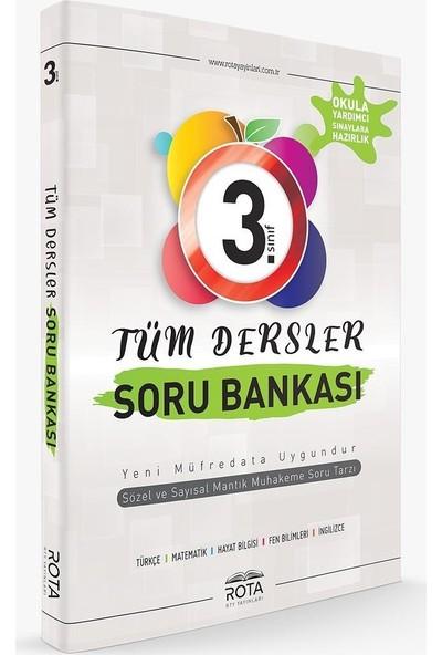 Rota 3. Sınıf Tüm Dersler Soru Bankası-Yeni