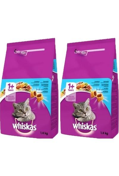 Whiskas Ton Balıklı Sebzeli Kuru Kedi Maması 300 gr x 2 Adet
