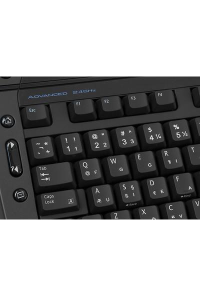 Logitech Pro 2000CL USB Q Klavye Siyah