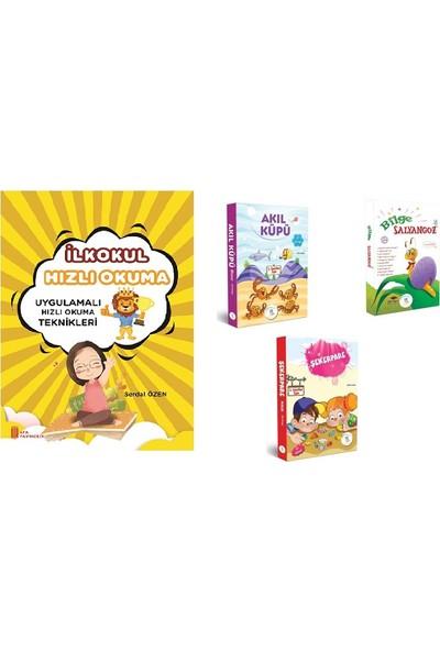 5 Renk Yayınları 1. sınıf Hızlı Okuma + Akıl Küpü + Şekerpare + Bilge Salyangoz Hikaye Seti (30 Kitap)