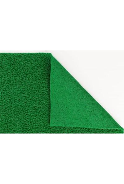 Akseren Halı 14MM Pvc Kaydırmaz Yeşil Kıvırcık Paspas