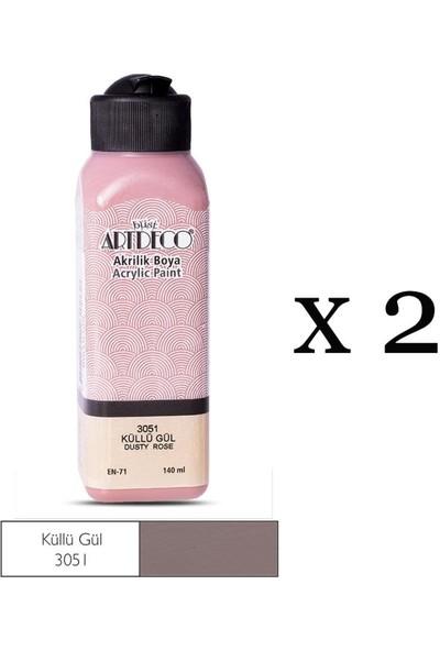 Artdeco Akrilik Boya 2'li 140 ml Renk Seçmeli Canlı ve Pastel
