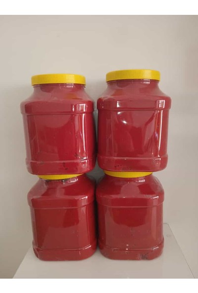 Yöresel Doğal Katkısız Domates Biber Karışık Tatlı Salça 3.5 kg