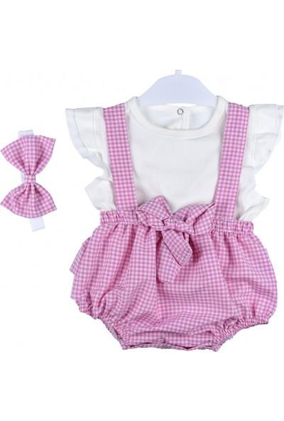 Maibella Kız Bebek Slopet Şort Tulum Takım