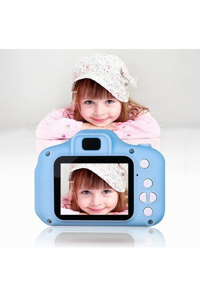 DEİLMİ Hd Kamera Çocuklar Için Dijital Fotoğraf Makinesi Mini 1080P