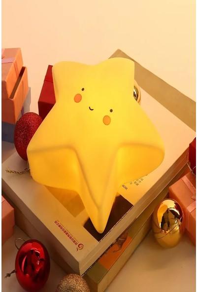 Lumenn Pilli Yıldız Sarı Dekoratif Gece Lambası-Dekorasyon Aydınlatma
