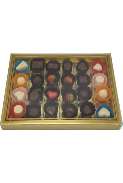 Asırlık 1453Hediyelik Karma Dolgulu Special Çikolata Asetat Kutu 300 gr