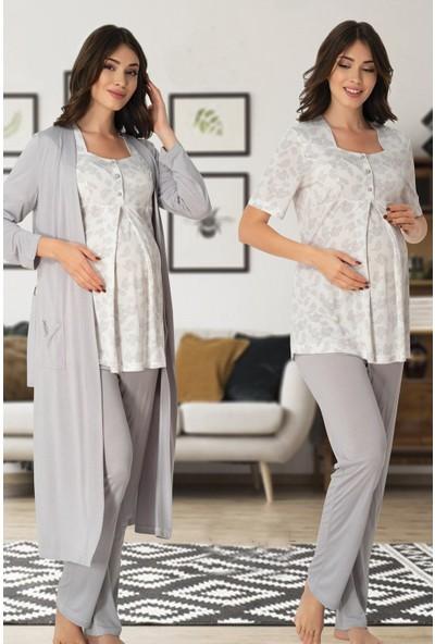 Effortt Sabahlıklı Lohusa Pijama Takımı