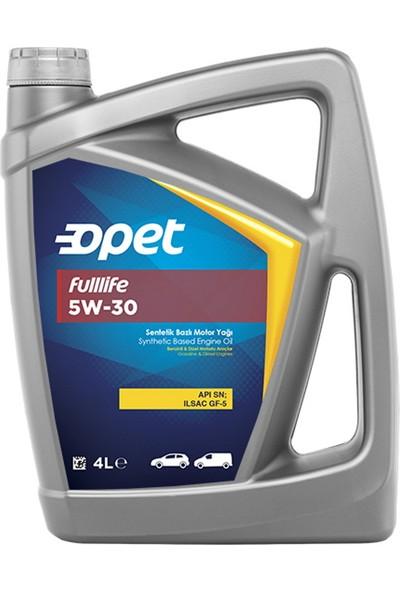 Opet Fulllife 5W-30 4 Litre Motor Yağı ( Üretim Yılı :2021 )