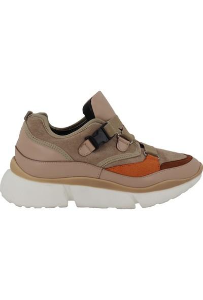 Prins Krem Kadın Spor Ayakkabı 78