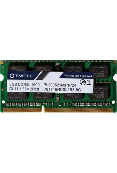 Timetec 8GB 1600MHz DDR3L CL11 Ram 76TT16NUSL2R8-8G