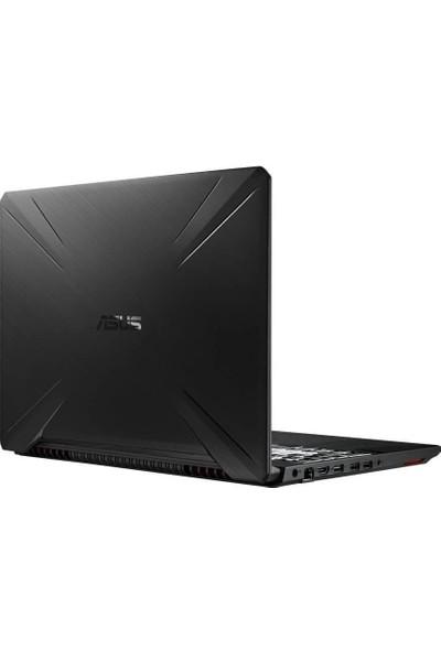 "Asus FX505DT AMD Ryzen 7 3750H 16GB 512GB SSD GTX 1650 Freedos 15.6"" FHD Taşınabilir Bilgisayar HN536A6"