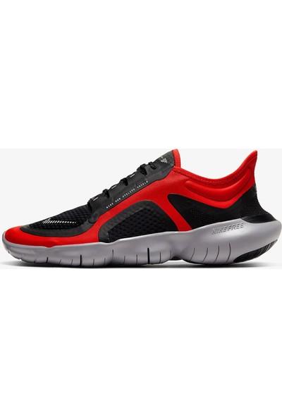 Nike Free Rn 5.0 Shield Erkek Kırmızı Koşu Ayakkabısı BV1223-600