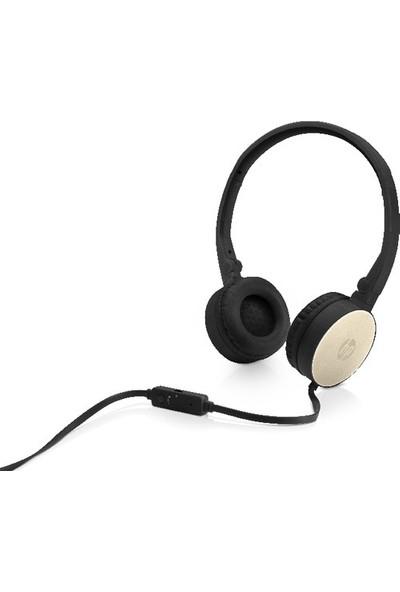 Hp H2800 Stereo Kulak Üstü Kulaklık Siyah - Gold