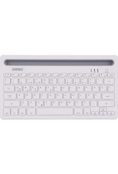 Everest KB-BT82 Bluetooth Tablet Standlı Kablosuz Klavye