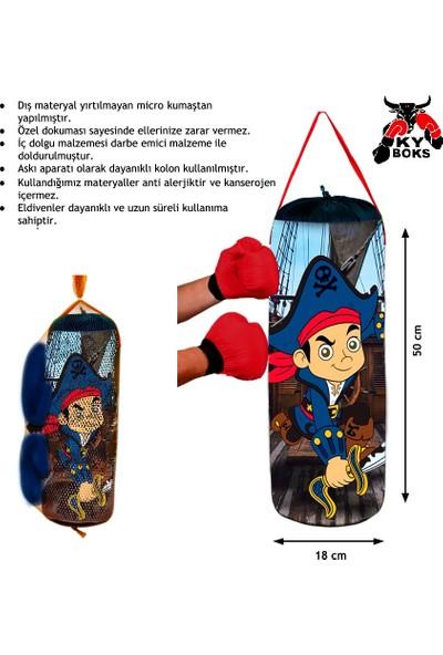 Ky Boks Korsan Karakterli Çocuk Boks Torbası