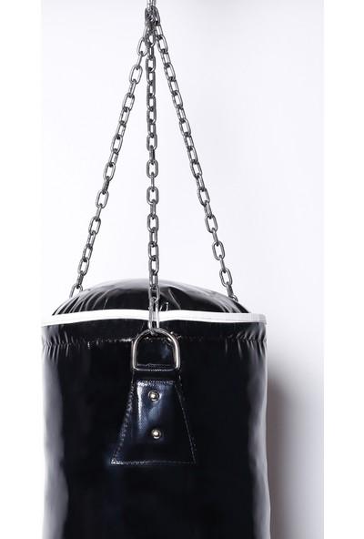 Crayz 70X25 cm Içi Dolu Kolonlu Boks Kum Torbası + Tavan Askı Aparatı