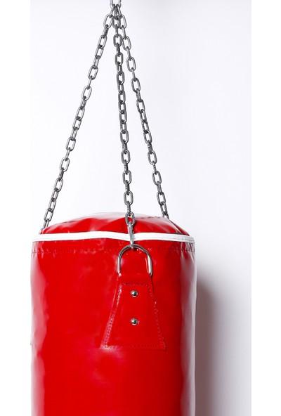 Crayz 80X30 cm Içi Dolu Kolonlu Boks Kum Torbası + Tavan Askı Aparatı