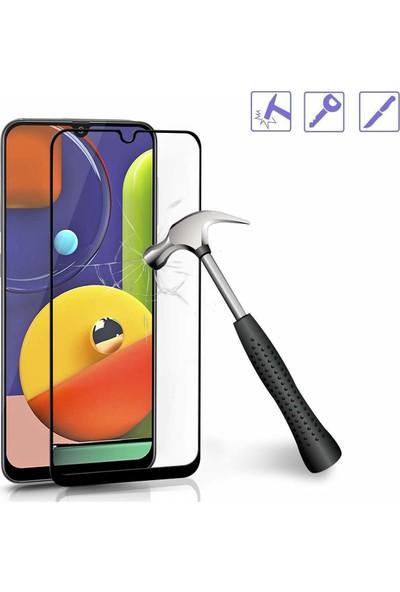 Cepstok Samsung Galaxy A20S Kırılmaz Cam 5d Tam Kaplayan Temperli Ekran Koruyucu