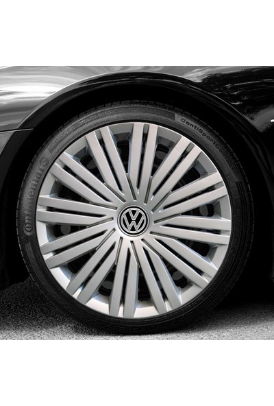Peak Auto Volkswagen Caddy 15'' Inç Uyumlu Jant Kapağı 4 Adet 1 Takım 2019