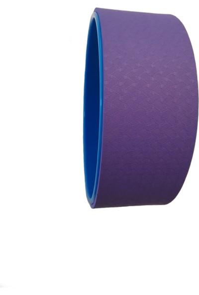 Yogatime Yoga Wheel Mavi / Mor