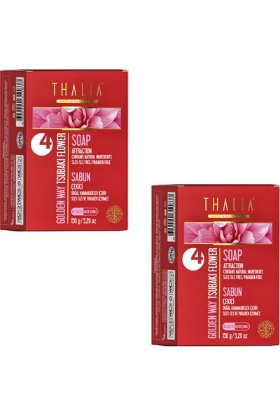 Thalia Golden Way (Japon Gülü Yağı Katı Sabun 150 gr x 2 Adet