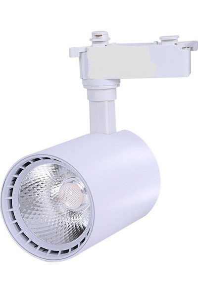 Hero 30W LED Ray Spot 3lü Set -Beyaz Kasa 3000K - Günışığı