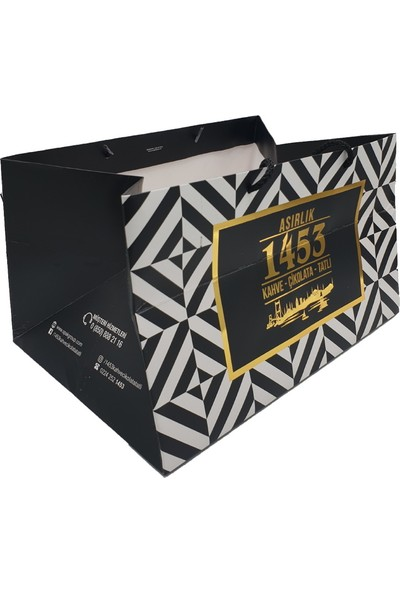 Asırlık 1453 Kız İsteme Karma Dolgulu Special Çikolata Kadife Kutu 400 gr Beyaz