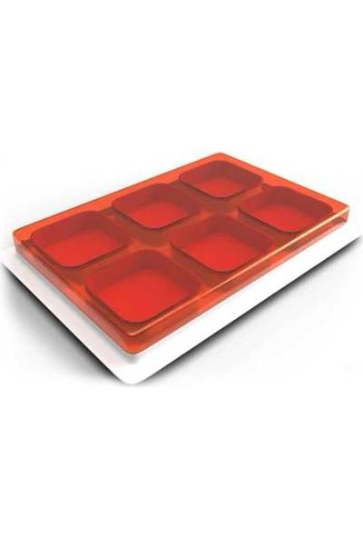 Decobella 14 Parça Kahvaltı Seti Kırmızı
