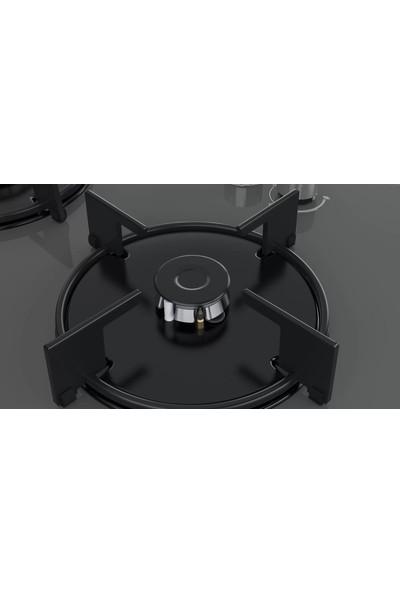 Bosch POP7C9O10O 4 Gözü Gazlı Gri Cam Ankastre Ocak