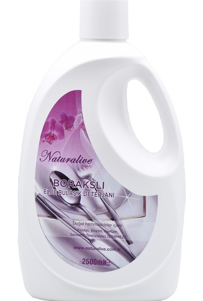 Naturalive Elde Bulaşık Deterjanı (2,5 Lt)