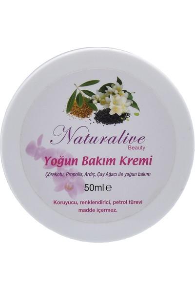Naturalive Doğal Yoğun Bakım Kremi 50 gr