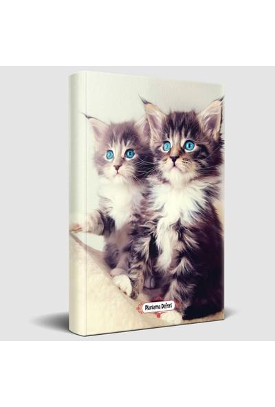 Halk Kitabevi Maviş Kediler Süresiz Planlama Defteri