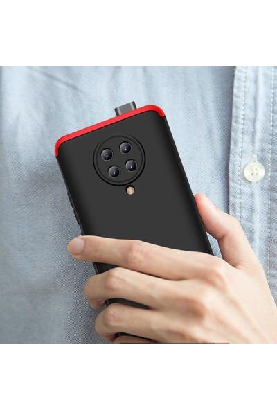 Kny Xiaomi Poco F2 Pro Kılıf 3 Parça 360 Zore Ays Kapak+Cam Ekran Koruyucu