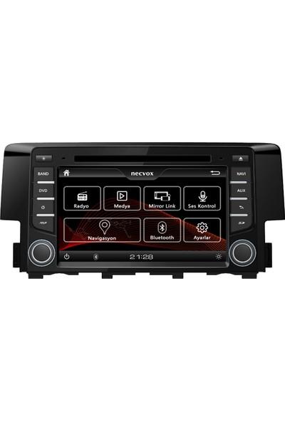 Necvox DVA-S99133 Honda Civic 2017 Navigasyon ve Multimedya Sistemi