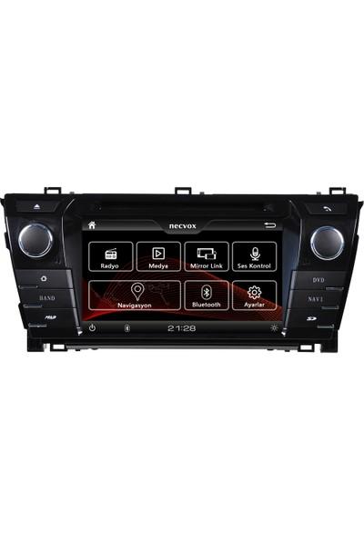 Necvox DVA-S9979 Toyota Corolla 2014 Navigasyon ve Multimedya Sistemi