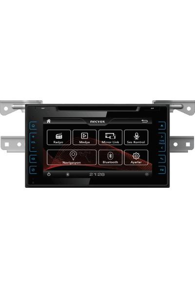 Necvox DVA-S99130 Toyota Auris Navigasyon ve Multimedya Sistemi