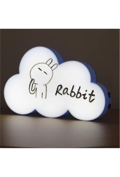 Bbc Yazılabilir LED Bulut Lightbox