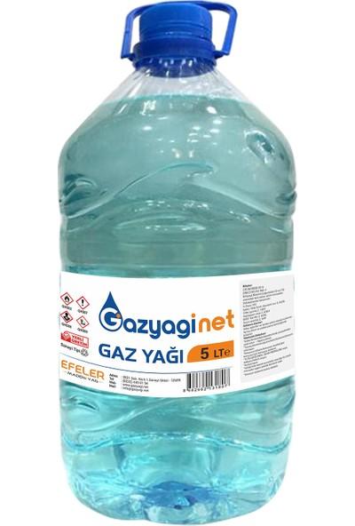 Gazyağınet Gaz Yağı 5 lt Gaz Lambası Gaz Sobası Boya Koruma Zift Reçine Zincir ve Yedek Parça Temizliği