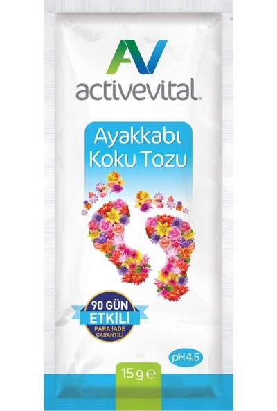 Active Vital 15 Gram Ayak Koku Tozu