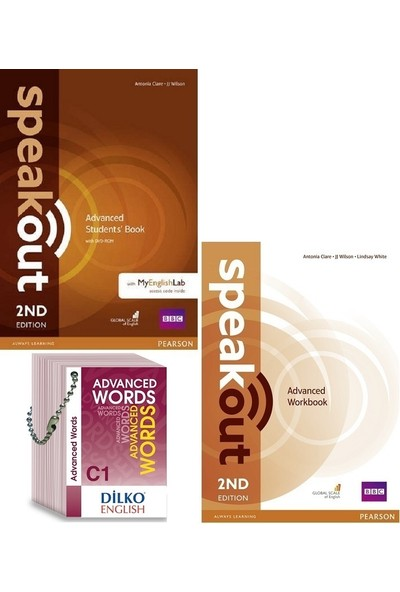 Pearson Education Yayıncılık Speakout Advanced Kod'lu Set