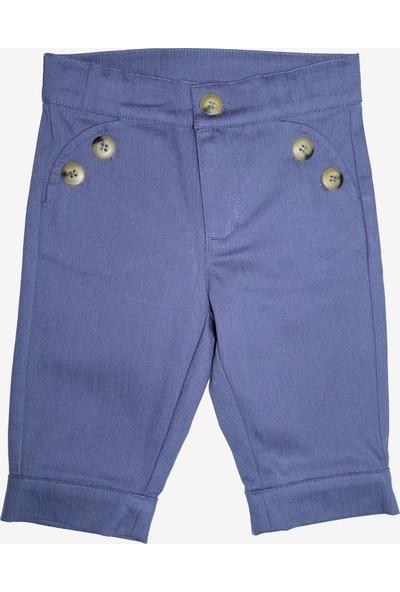 OZMOZ Erkek Bebek Baharlık Mavi Pantolon