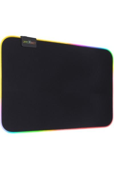 James Donkey JDR450 450 x 450 x 4 mm Rgb Oyuncu Mousepad
